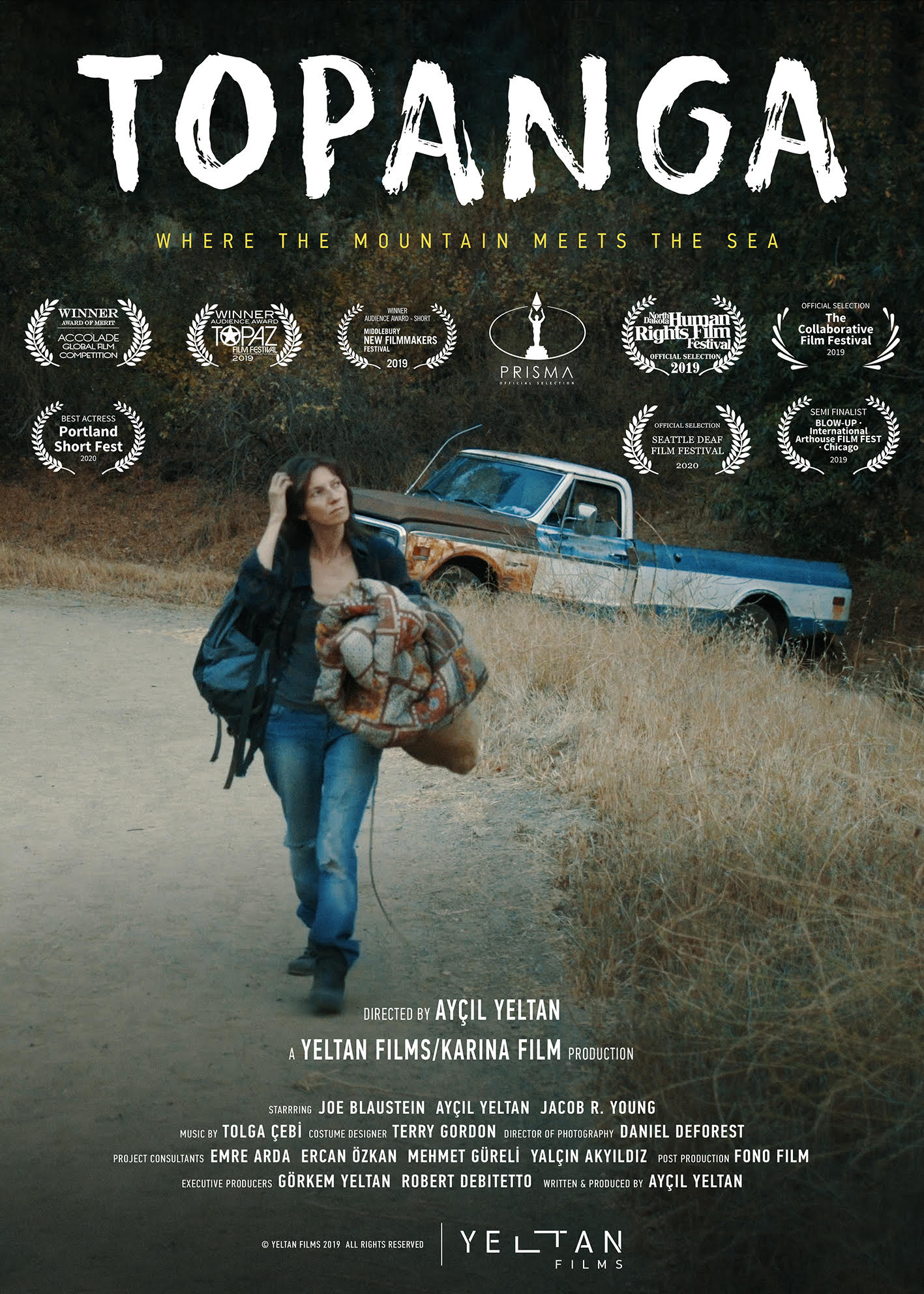 Topanga Movie Awards Poster